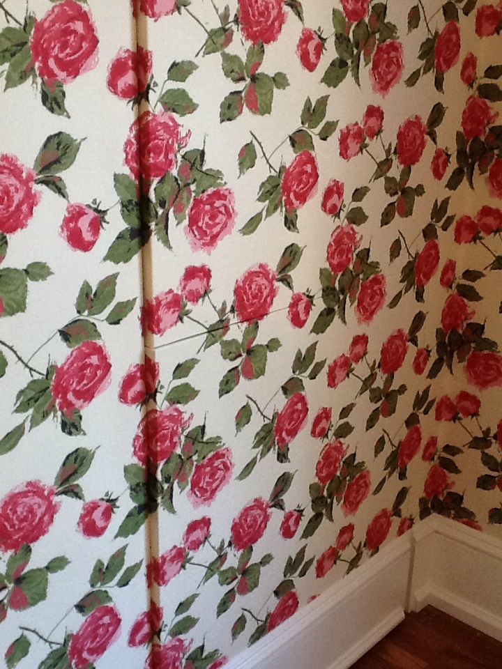 Cover Your Walls In Fabric : Fabric wall covering residential paint wallpaper