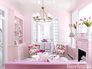 Richmond Townhouse Pink Parlor - House Beautiful